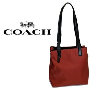Authentic COACH tote bag red